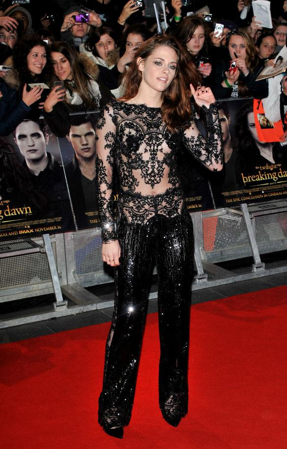 Kristen Stewart Swaps Zuhair Murad Jumpsuit For Grungy Jacket To Go Home With Robert Pattinson