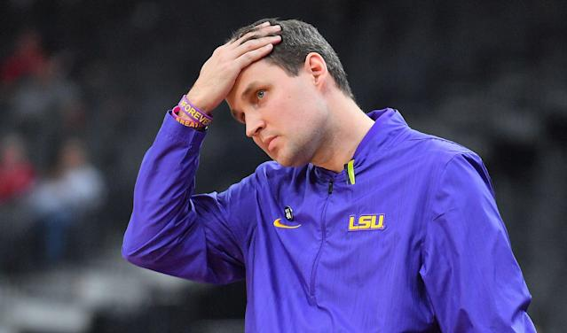 Will Wade's LSU Tigers are 25-5 and ranked in the AP top 10. (Getty)