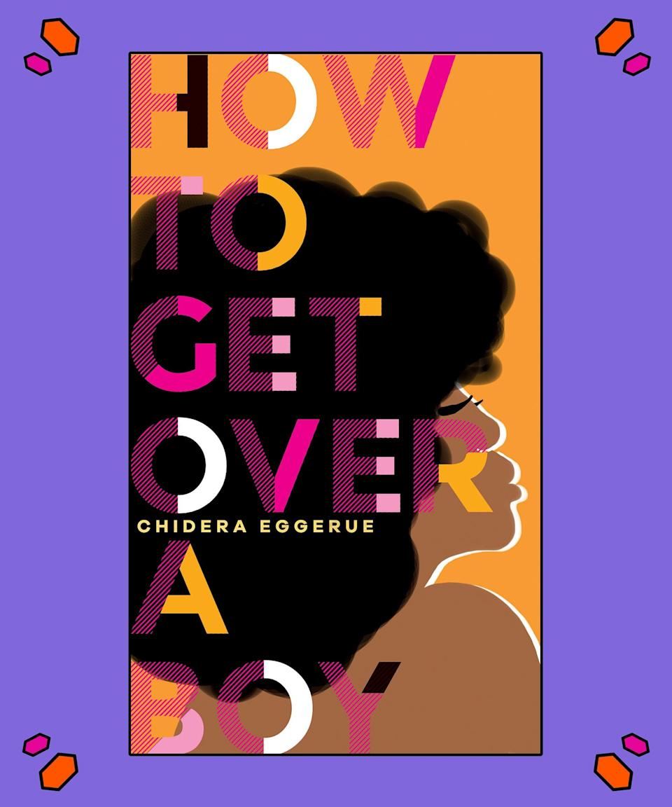 """<strong><em>How To Get Over A Boy</em>, Chidera Eggerue aka The Slumflower</strong><br><br>In her bestselling debut, award-winning blogger and <a href=""""http://www.theslumflower.com/blog/saggy-boobs"""" rel=""""nofollow noopener"""" target=""""_blank"""" data-ylk=""""slk:#SaggyBoobsMatter"""" class=""""link rapid-noclick-resp"""">#SaggyBoobsMatter</a> movement leader Chidera Eggerue aka The Slumflower blessed us with the unofficial millennial self-care bible of 2018 (<em>What A Time To Be Alone)</em>. Now, after showing us the power in solitude, she's back to show women <em>How To Get Over A Boy</em> in an all-new self-care guide. <br><br>For Eggerue, realising that the men we date only have as much power as we give them is just the first – but also one of the most crucial — steps to navigating the dating world. It's also about truly meeting yourself, and what that means within a society that covertly influences us to develop or self-image via the gaze of others. What if, instead of basing our value on how others perceive us, we based it in our own self-acceptance? In Eggerue's world, """"Men are NEVER the prize. You are."""" And she wants to make sure you don't forget it. <br><br>Pre-order your copy <a href=""""https://www.amazon.com/How-Get-Over-Chidera-Eggerue/dp/1787134806/ref=sr_1_2?keywords=how+to+get+over+a+by+chidera+eggerue&qid=1578425505&sr=8-2"""" rel=""""nofollow noopener"""" target=""""_blank"""" data-ylk=""""slk:here"""" class=""""link rapid-noclick-resp"""">here</a>."""