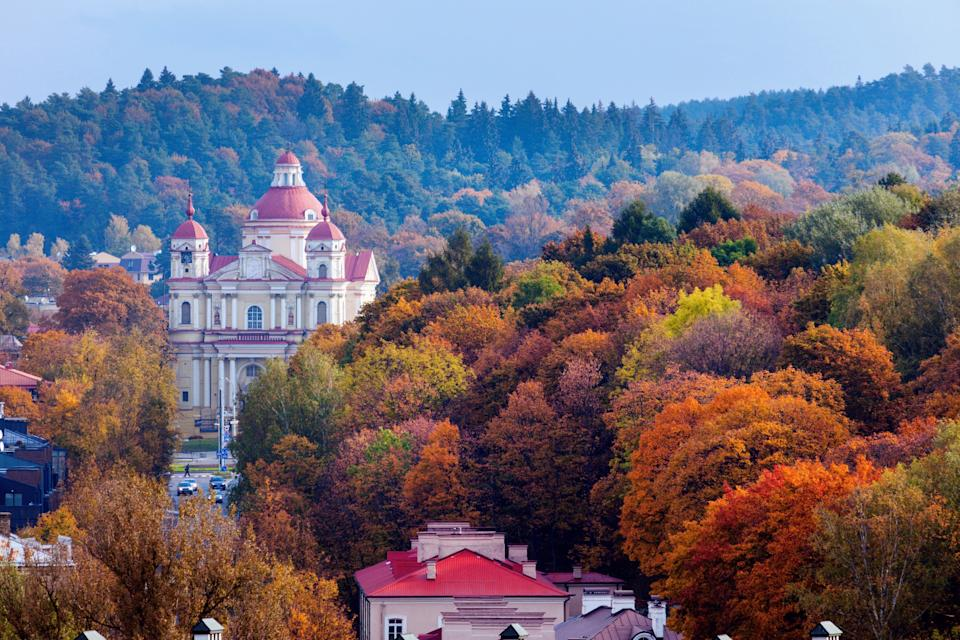 Vilnius, the capital of Lithuania - getty