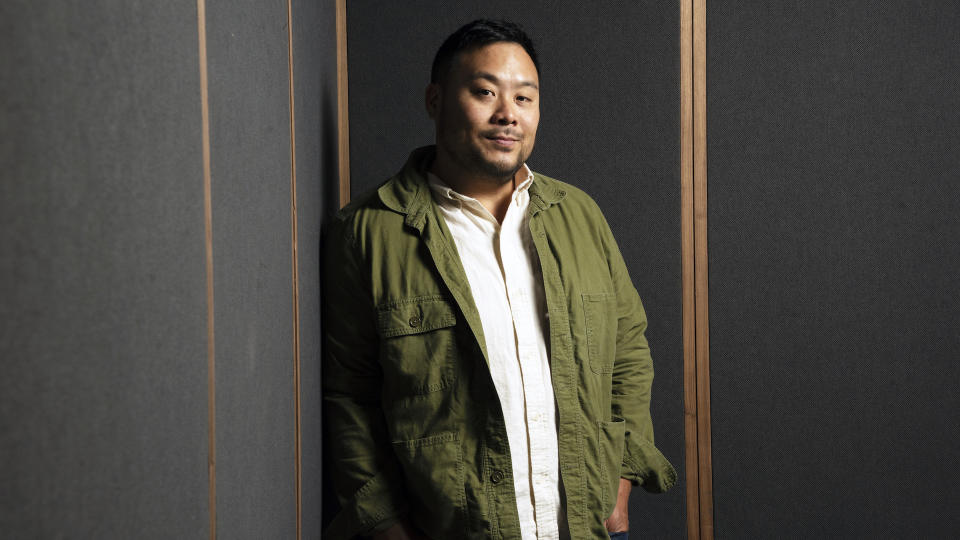 David Chang photographed at his restaurant Ko in New York, New York on August 26,2019.  (Photo by Marvin Joseph/The Washington Post via Getty Images)
