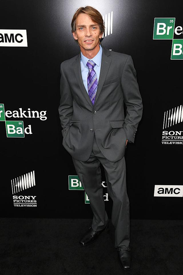 "Charles Baker arrives at AMC's ""Breaking Bad"" special premiere event held at Sony Pictures Studios on July 24, 2013 in Culver City, California."