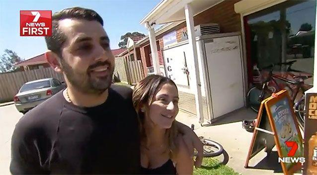 Mrs Hammoud said she just wants her husband to stay safe. Source: 7 News