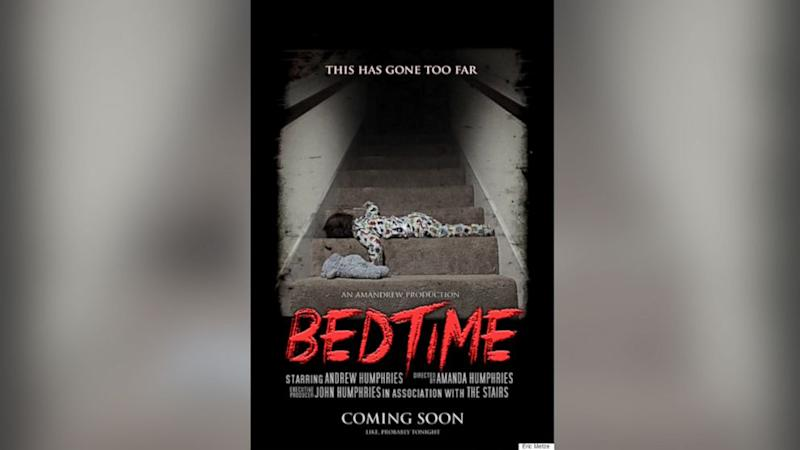Horror Movie Parody Poster of Kid's Bedtime Goes Viral