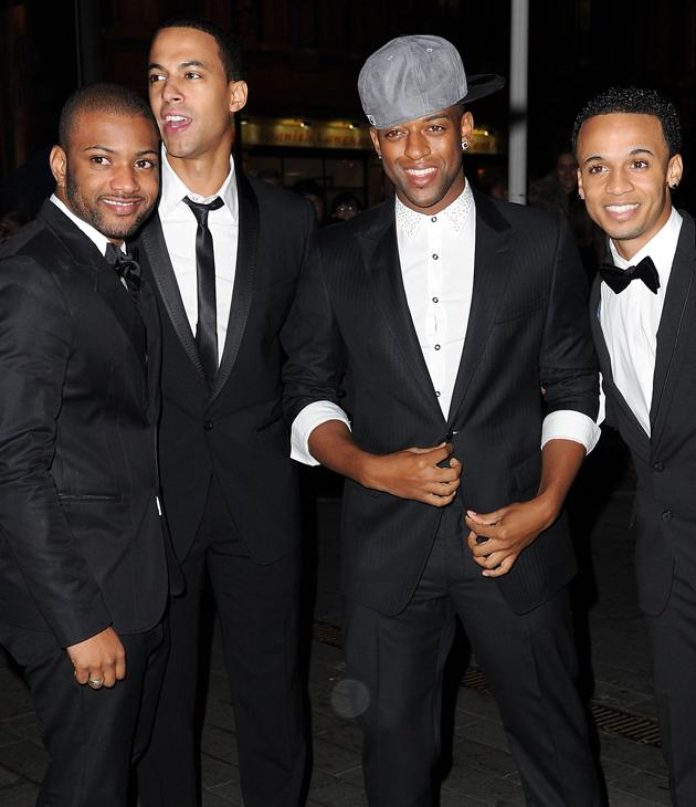 JLS photos: Suited and booted and oh-so sexy!