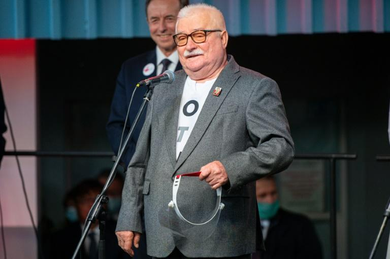 Walesa warns Poles against populism on 40th Solidarity anniversary