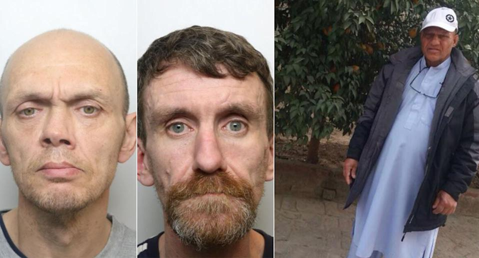 Craig Stanton and Alexander Mackay have been jailed for murdering Saleem Butt, right. (PA/West Yorkshire Police)