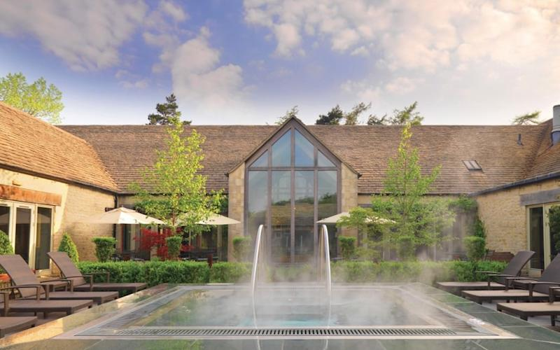 Calcot Manor, Cotswolds - one of Britain's best hotels with outdoor pools