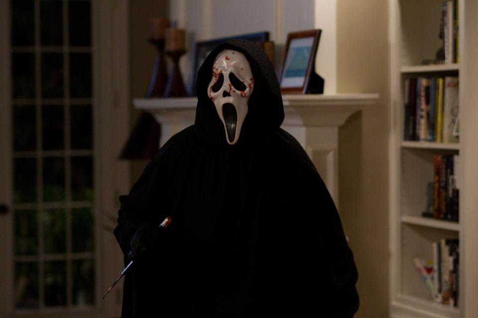 Ghostface on the rampage in Scream 4. (Dimension)
