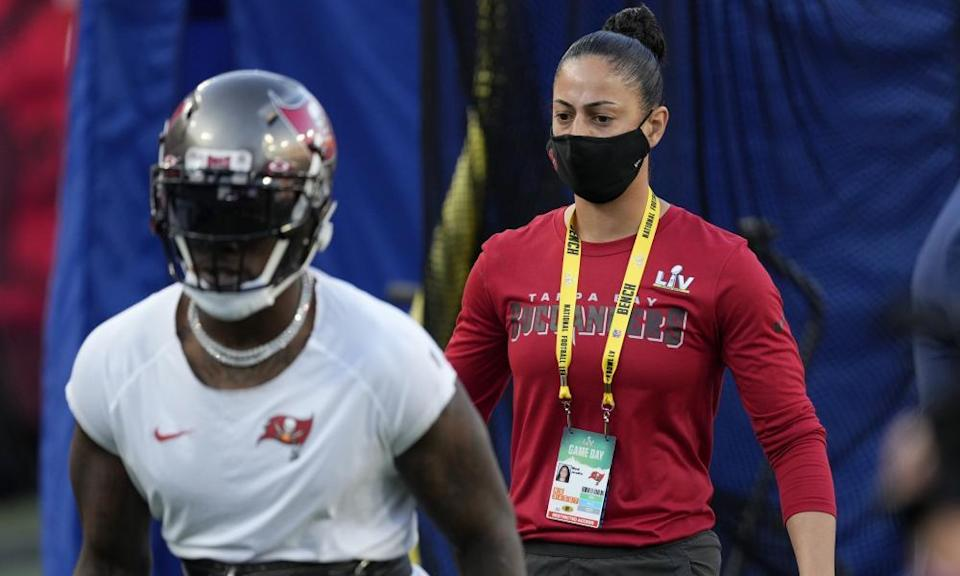 Tampa Bay Buccaneers strength and conditioning coach Maral Javadifar  is now a Super Bowl champion