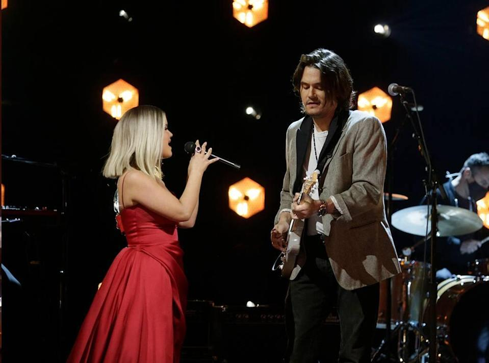 Maren Morris, John Mayer, 2021 Grammy Awards, Performance