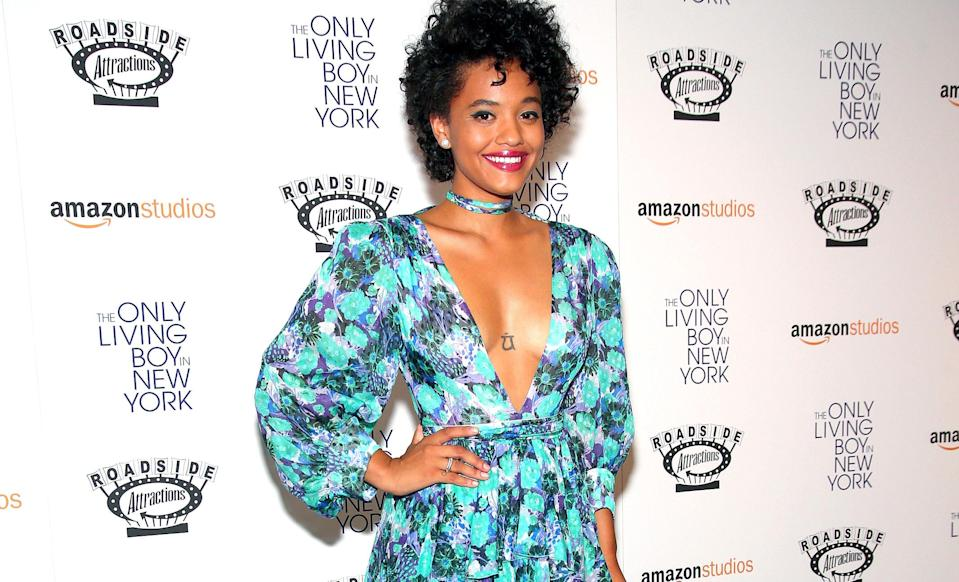 Kiersey Clemons at the premiere of 'The Only Living Boy in New York'