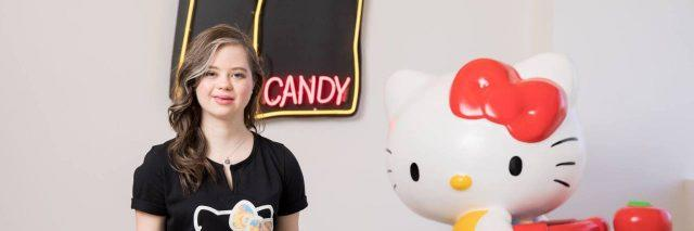 Born This Way' Star Megan Bomgaars Helped Design Hello Kitty's New