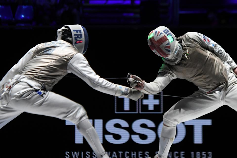Mepstead, 31, hailed the injection of National Lottery funding as critical after being selected as Team GB's sole fencer for Tokyo 2020