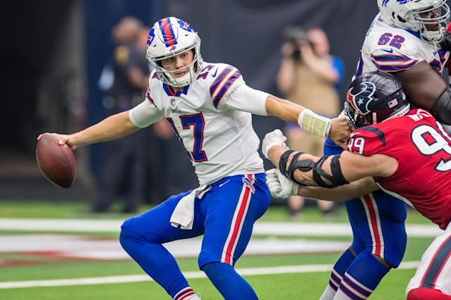 Josh Allen could be back at the helm as Buffalo host Jacksonville