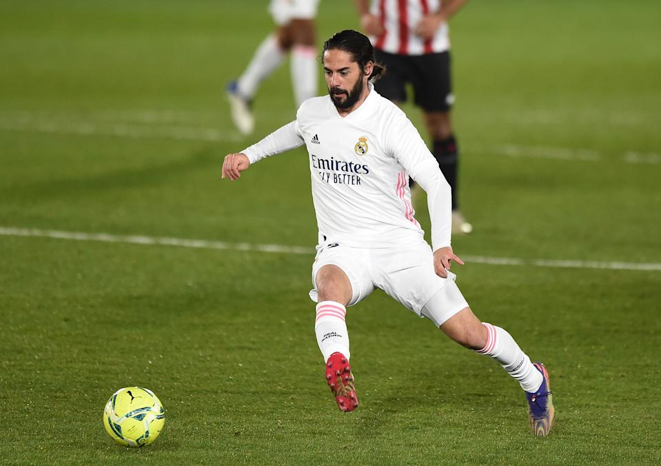 Isco, en el partido ante el Athletic. (Foto: Denis Doyle/Getty Images)