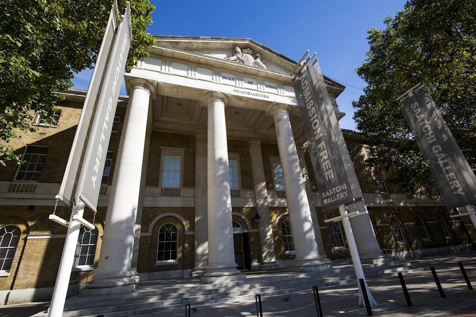 Contemporary showcase: The Saatchi Gallery (Getty Images)