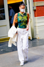 <p>If you're slightly newer to the world of prints, make like Bella Hadid and start out by adding in a single printed piece to your outfit. Not only does it offer a subtler feel, it also prevents your look from veering into 'OTT' territory.</p>