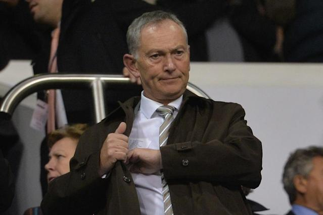 Premier League chief executive Richard Scudamore will get a £5 million farewell gift when he steps down (AFP Photo/GLYN KIRK)