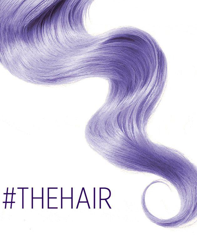 What colour is #TheHair?