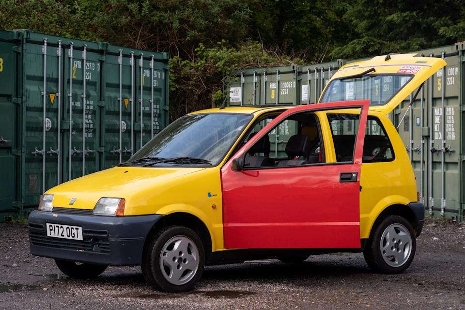 The Inbetweeners car is going up for sale at East Bristol Auctions. (SWNS)