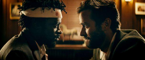 PHOTO: Lakeith Stanfield and Armie Hammer in a scene from 'Sorry to Bother You.' (Annapurna Pictures)