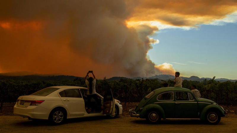 California sees some of its largest wildfires in history