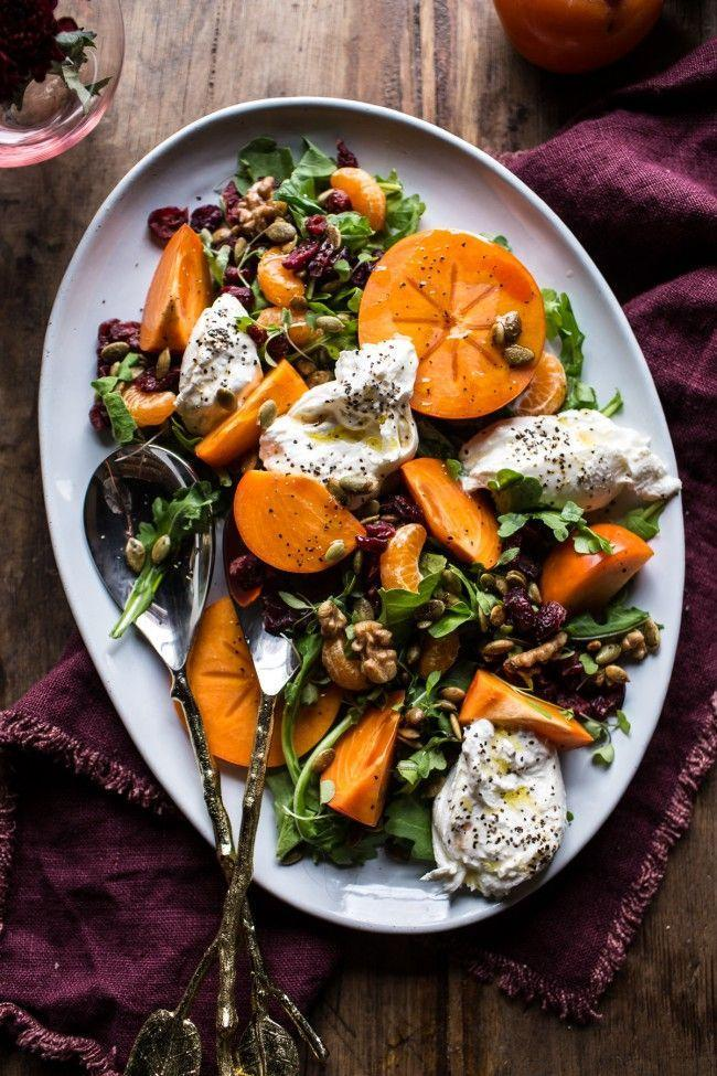 "<p>Throw a dollop of rich, decadent burrata on any salad and it's a winner. This dish also has tangy fruit and maple candied walnuts.</p><p><strong>Get the recipe at <a href=""https://www.halfbakedharvest.com/harvest-cranberry-persimmon-and-burrata-salad/"" rel=""nofollow noopener"" target=""_blank"" data-ylk=""slk:Half Baked Harvest"" class=""link rapid-noclick-resp"">Half Baked Harvest</a>.</strong></p><p><strong><a class=""link rapid-noclick-resp"" href=""https://go.redirectingat.com?id=74968X1596630&url=https%3A%2F%2Fwww.walmart.com%2Fbrowse%2Fhome%2Fserveware%2Fthe-pioneer-woman%2F4044_623679_639999_2347672%2FYnJhbmQ6VGhlIFBpb25lZXIgV29tYW4ie&sref=https%3A%2F%2Fwww.thepioneerwoman.com%2Ffood-cooking%2Fmeals-menus%2Fg33251890%2Fbest-thanksgiving-sides%2F"" rel=""nofollow noopener"" target=""_blank"" data-ylk=""slk:SHOP SERVEWARE"">SHOP SERVEWARE</a><br></strong></p>"