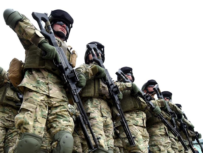 Some 500 Georgian, 650 US and 150 British troops are taking part in the drills, billed as the largest ever to be held in the Caucasus nation