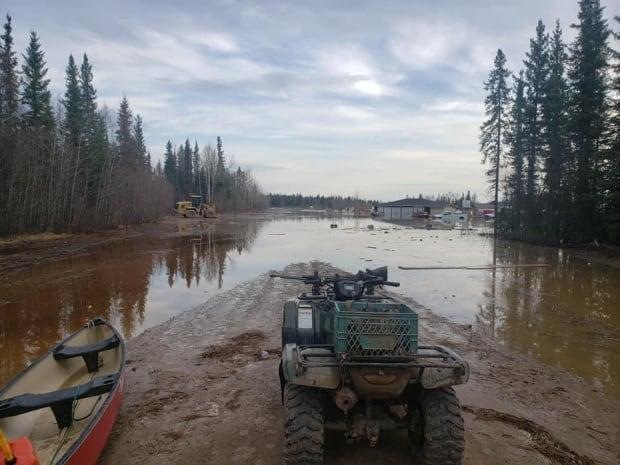 """""""Cell service down in [Jean Marie River],"""" wrote Paul Thunder-Stealer in a post on Facebook. """"The people are fine. Our little community is not."""""""