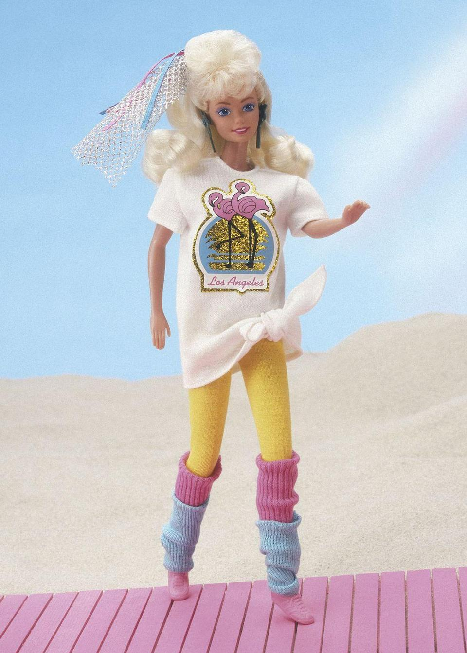 <p>1988's Fashion Magic Barbie is living her best life in an outfit that is very familiar to anyone who lived through the '80s. </p>