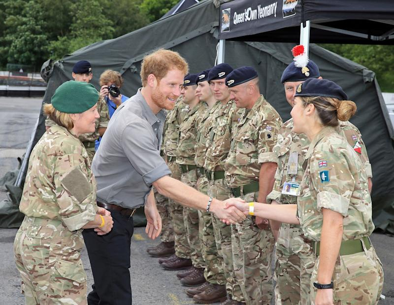 ISIS Challenges Prince Harry to a Fight: 'We Will Send You and Your Apaches to Hellfire'