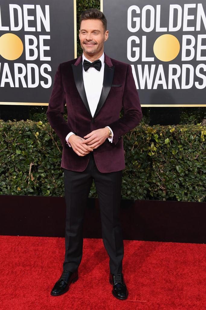 <p>Ryan Seacrest attends the 76th Annual Golden Globe Awards at the Beverly Hilton Hotel in Beverly Hills, Calif., on Jan. 6, 2019. (Photo: Getty Images) </p>