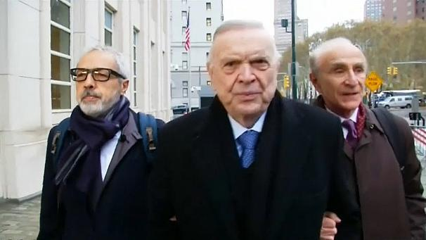 A New York jury has found two former South American football officials guilty of taking bribes in exchange for media rights to international matches. The trial is the first in a series of verdicts in a US probe into FIFA, the football world governing body. The two men convicted are Juan Angel Napout from Paraguay, the former head of South American governing body CONMEBOL, and Jose Maria Marin, former Brazilian soccer chief. Marin was found guilty of six counts, including racketeering conspiracy, wire fraud and money laundering conspiracy. The jury cleared him on the one count of money laundering conspiracy. Napout was found guilty on three counts, including racketeering conspiracy and wire fraud conspiracy. He was cleared on two counts of money laundering conspiracy. A third man, former President of the Peruvian soccer federation Manuel Burga has not yet been convicted. He also stands accused of taking bribes. The judge said the jury will return on Thursday to deliberate. Napout's lawyer, Silvia Pinera-Vazquez, said he was disappointed with the verdict reached by the court. Prosecutors have charged 42 people and entities in the case, at least 24 of whom have pleaded guilty. A number of these gave evidence in the trial of Napout, Marin and Burga. There were suggestions made that corruption within the organisation went far beyond the three men on trial. Alejandro Burzaco, the former head of Argentine sports marketing company Torneos y Competencias, told jurors that he paid bribes to all three defendants to secure rights to matches including the Copa America and Copa Libertadores. Burzaco had previously pleaded guilty and agreed to cooperate with prosecutors. The prosecutions are the first in a series of charges being brought against FIFA by US Prosecutors. Allegations of corruption within the organisation have been rife. They include suggestions that Qatar bribed officials so they could host the 2020 World Cup. FIFA has repeatedly denied these allegations.