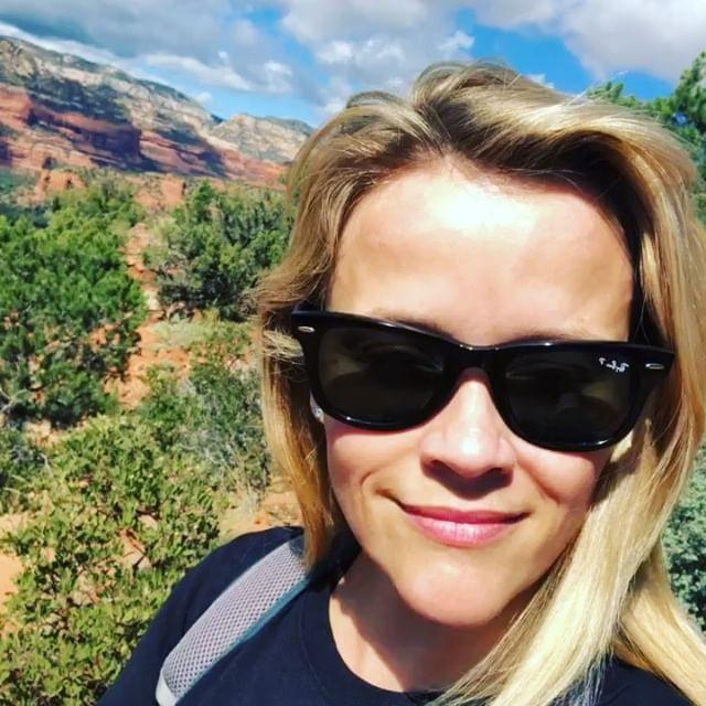 """<p>Reese actually goes for hikes while carrying light <a href=""""https://www.womenshealthmag.com/uk/gym-wear/g33455565/best-dumbbells/"""" rel=""""nofollow noopener"""" target=""""_blank"""" data-ylk=""""slk:dumbbells"""" class=""""link rapid-noclick-resp"""">dumbbells</a>, George told Shape. Good on her, that ish is <strong>not </strong>easy. </p><p><a href=""""https://www.instagram.com/p/BowrkAjnjdD/"""" rel=""""nofollow noopener"""" target=""""_blank"""" data-ylk=""""slk:See the original post on Instagram"""" class=""""link rapid-noclick-resp"""">See the original post on Instagram</a></p>"""