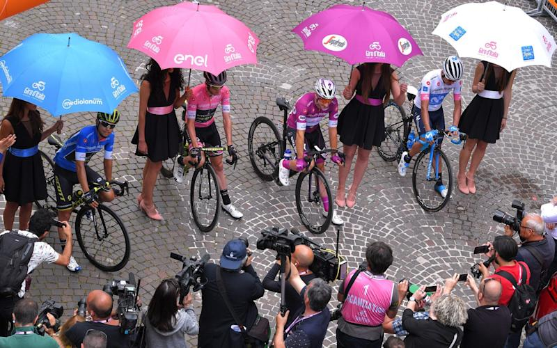 Whatever the colour of the jersey – pink, cyclamen, blue or white– Telegraph Sport has it covered - Velo