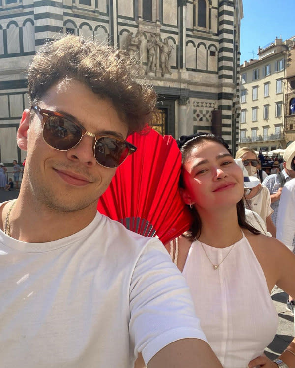Bela Padilla is happily in love with Norman Bay