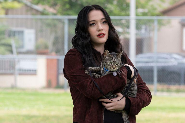 Kat Dennings and Dollface.