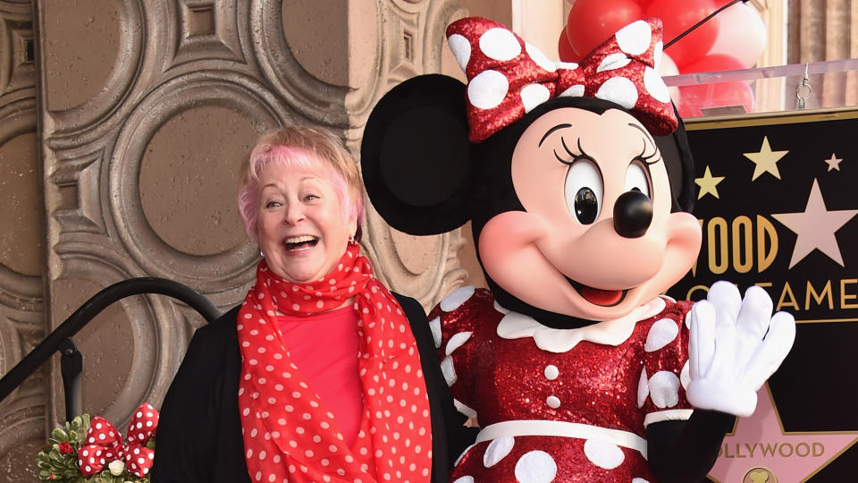A prolific voice actor, Taylor provided the vocals for Minnie Mouse as well as <em>Simpsons</em> characters Martin, Sherri & Terri and Uter. She passed away on 26 July after a battle with colon cancer. (Credit: Alberto E. Rodriguez/Getty Images)