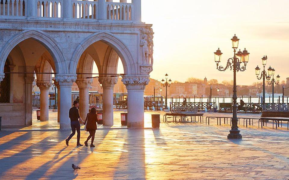 Things have been quiet in Venice, during the pandemic