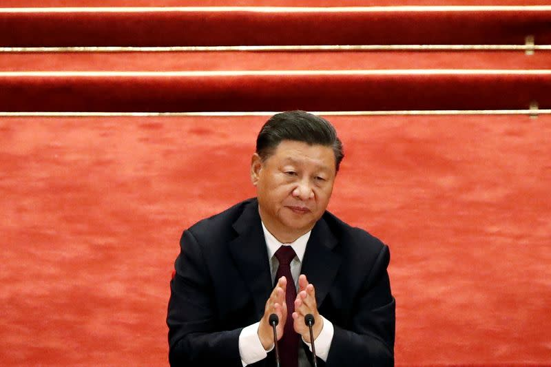At U.N., China's Xi says no intention to fight 'a Cold War or hot one' with any country