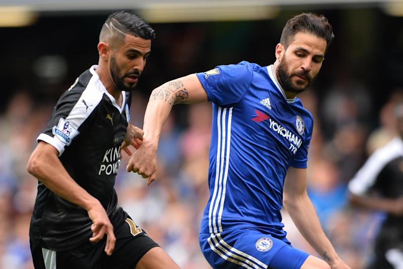Fab fear: Fabregas will keep watch in the Chelsea midfield on Saturday: AFP/Getty Images