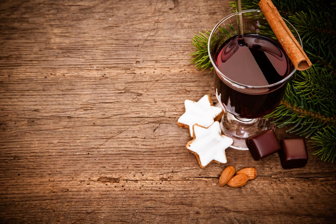 "<p>Mulled wine can actually prevent ageing. It sounds rubbish but it's true. The alcohol's antioxidants can <a rel=""nofollow"" href=""https://bmccellbiol.biomedcentral.com/articles/10.1186/s12860-017-0147-7"">help fight</a> those stubborn fine lines and wrinkles by restoring collagen and elastic fibres to the face. It's the reason why wine facials exist. <i>[Photo: Getty]</i> </p>"
