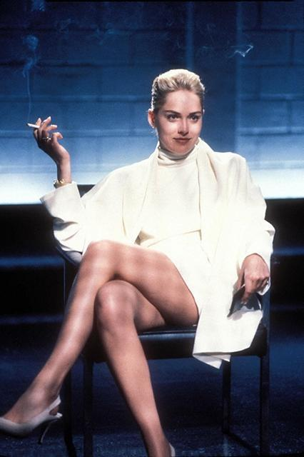"""<em><strong><h3>Basic Instinct</h3></strong></em><h3> (1992)<br></h3>Everyone knows this movie for Sharon Stone's interrogation scene, but the sex scene is also incredible. Even more than that, Stone's entire aura is divinely sexy.<br><br><span class=""""copyright"""">Photo: Courtesy of TriStar Pictures.</span>"""