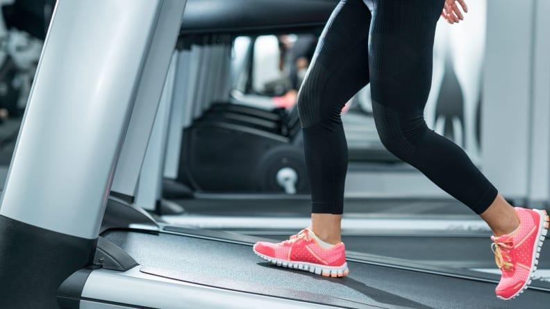 Feel your muscles even more and walk on an incline.