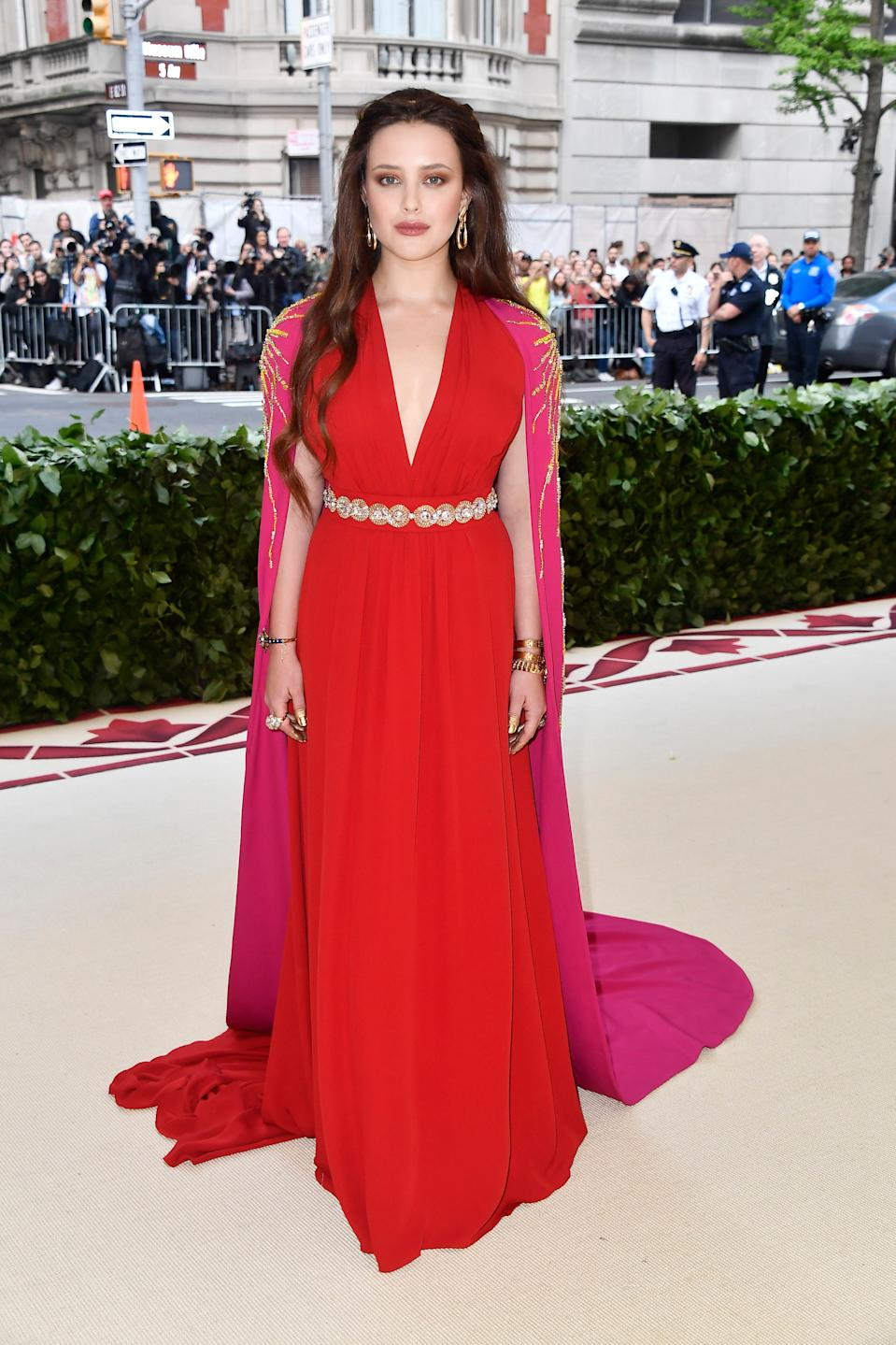 """<h1 class=""""title"""">Katherine Langford in Prada and Fred Leighton jewelry</h1><cite class=""""credit"""">Photo: Getty Images</cite>"""