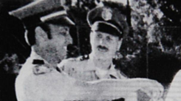 PHOTO: Suspected 'Golden State Killer,' Joseph James DeAngelo is the police officer on the right in a photo from 1979. (Auburn Journal )