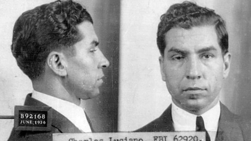 """Charles """"Lucky"""" Luciano."""
