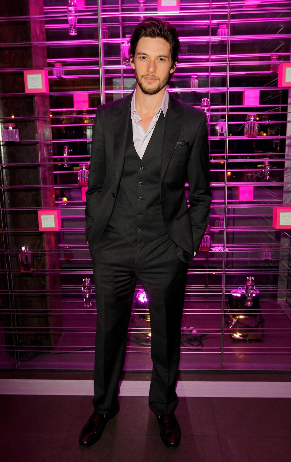 <p>Smoldering is an art, and Ben Barnes has mastered it. </p>