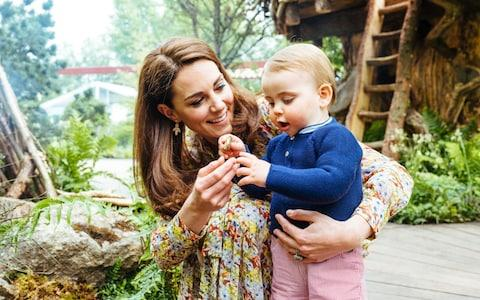Prince Louis and the Duchess of Cambridge - Credit: Matt Porteous